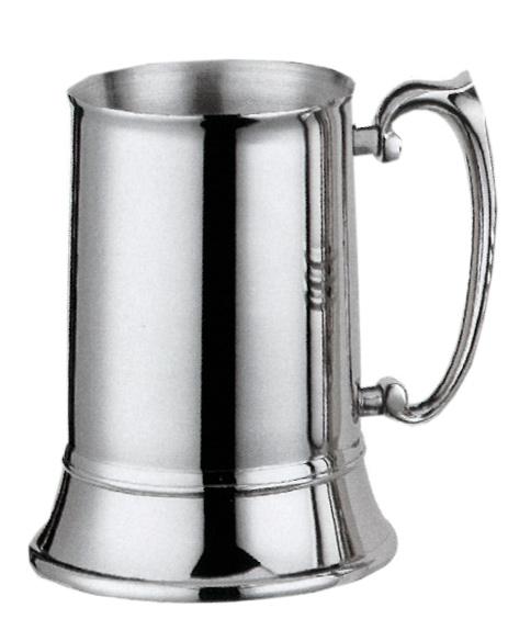 Stainless Steel Tankard - 01