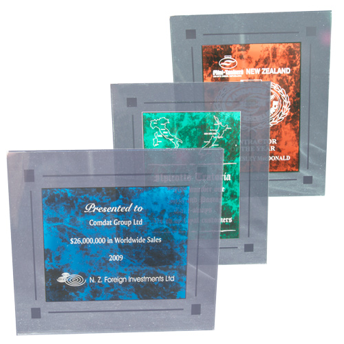 Framed Marble Plaques
