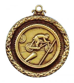 Antique cycling medal