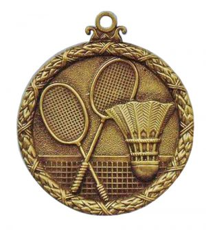 Badminton Antique Medal