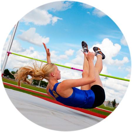 Female high jump
