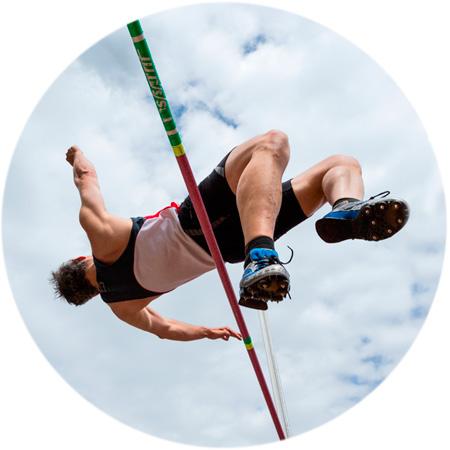 Male high jump