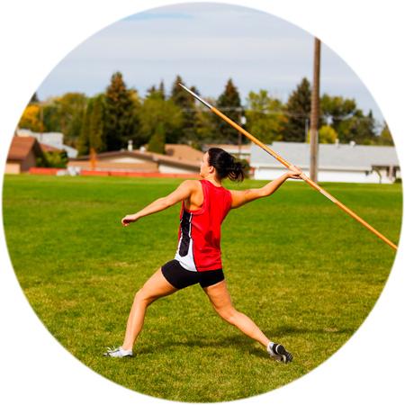Female javelin