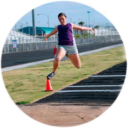 Female long jump